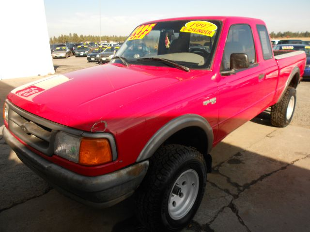 1997 FORD RANGER XL SUPERCAB 4WD red we take trade-ins of all shapes and sizes paid for or not w