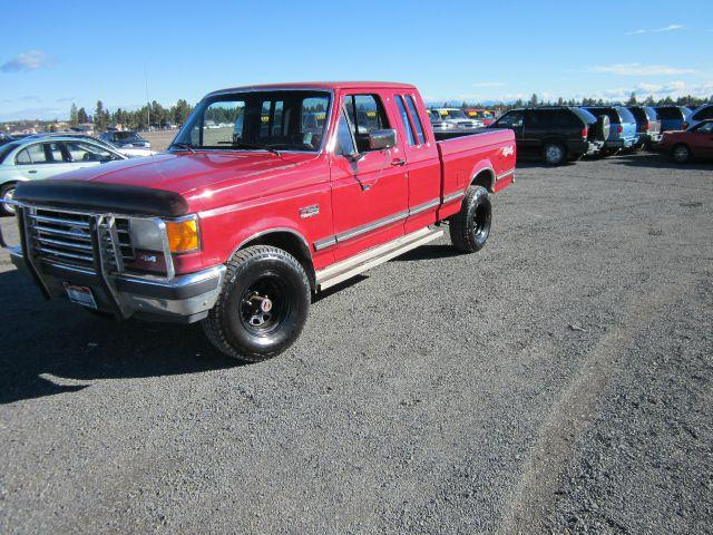 1991 FORD F-150 XLT LARIAT 2DR 4WD EXTENDED CAB 1991 abs - 4-wheel auxiliary gas tank captain ch