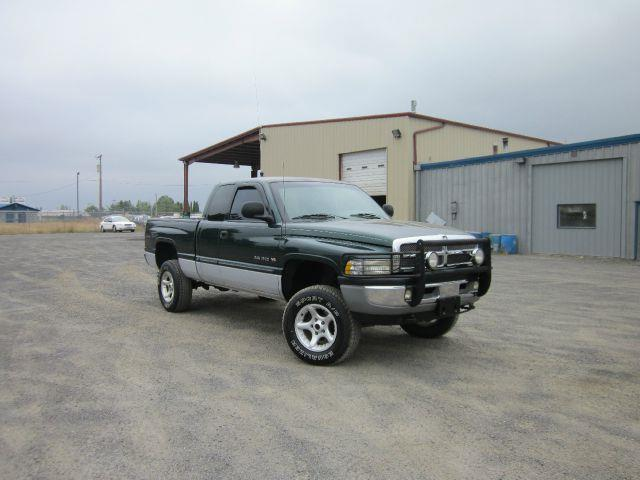 2001 DODGE RAM PICKUP 1500 SLT PLUS 4DR QUAD CAB 4WD SB 2001 abs - 4-wheel alloy wheels anti-the