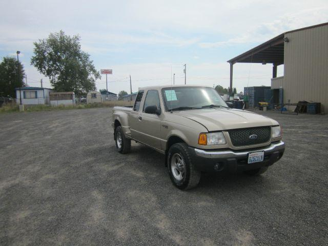 2001 FORD RANGER XLT 4DR SUPERCAB 4WD FLARESIDE S 2001 abs - 4-wheel alloy wheels anti-theft sys