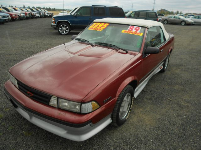 1989 CHEVROLET CAVALIER Z24 CONVERTIBLE maroon we take trade-ins of all shapes and sizes paid for