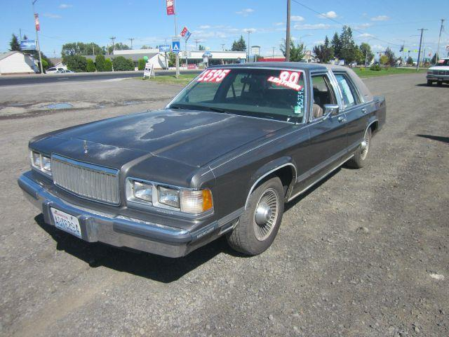 1990 MERCURY GRAND MARQUIS LS 4DR SEDAN 1990 we take trade-ins of all shapes and sizes paid for o