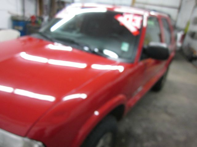 2003 CHEVROLET BLAZER 4-DOOR 4WD LS red we take trade-ins of all shapes and sizes paid for or not