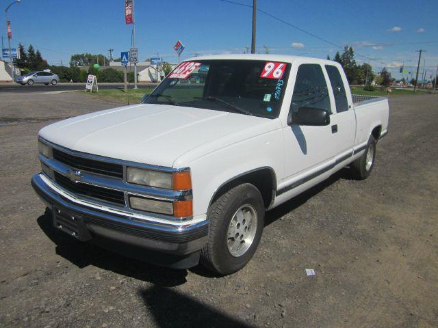 1996 CHEVROLET CK 1500 SERIES C1500 SILVERADO 2DR EXTENDED CAB 1996 we take trade-ins of all shap