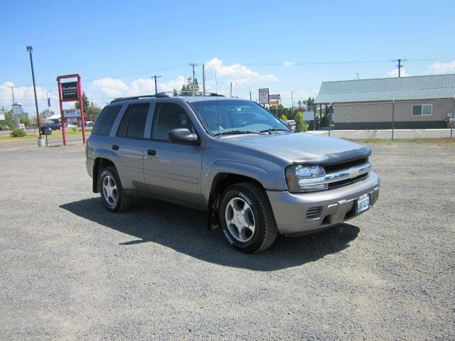 2007 CHEVROLET TRAILBLAZER LS 4DR SUV 4WD grey we take trade-ins of all shapes and sizes paid for