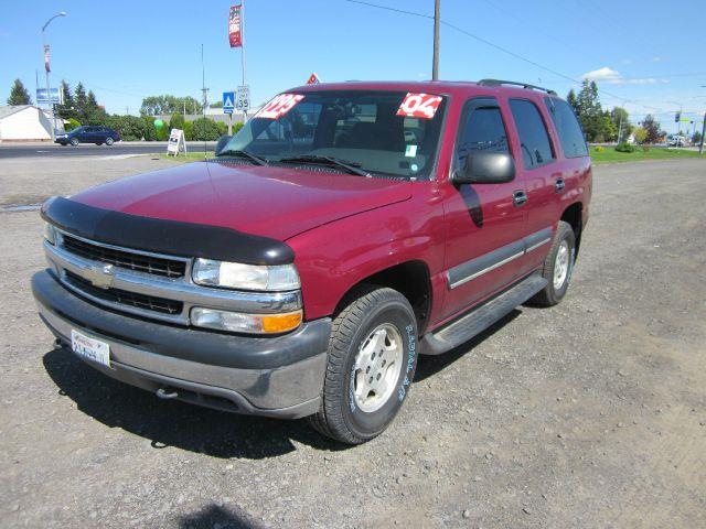 2004 CHEVROLET TAHOE LS 4WD 4DR SUV 2004 we take trade-ins of all shapes and sizes paid for or no