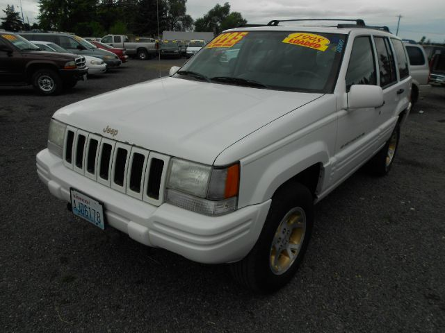 1998 JEEP GRAND CHEROKEE LIMITED 4WD white we take trade-ins of all shapes and sizes paid for or