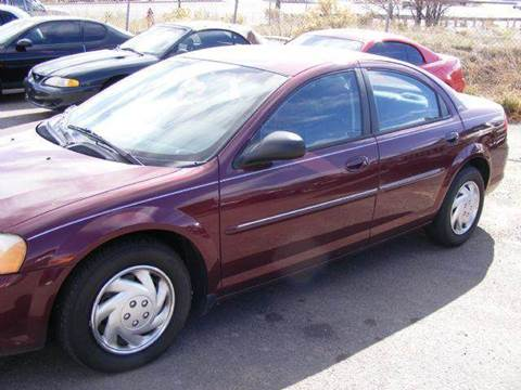 2001 Dodge Stratus for sale in Colorado Springs, CO