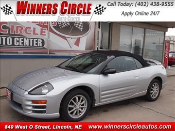 2001 Mitsubishi Eclipse Spyder for sale in Lincoln, NE