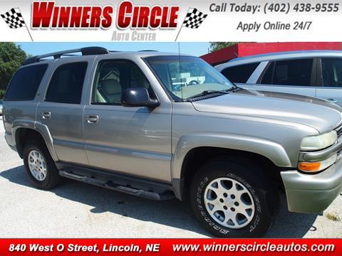 2003 Chevrolet Tahoe for sale in Lincoln NE