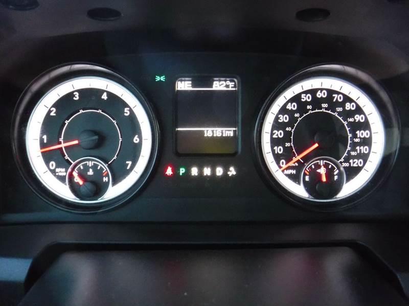 2016 RAM Ram Pickup 1500 4x4 SLT 4dr Crew Cab 5.5 ft. SB Pickup - Las Cruces NM