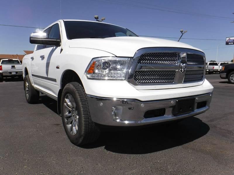 2014 RAM Ram Pickup 1500 4x4 Laramie Limited 4dr Crew Cab 5.5 ft. SB Pickup - Las Cruces NM