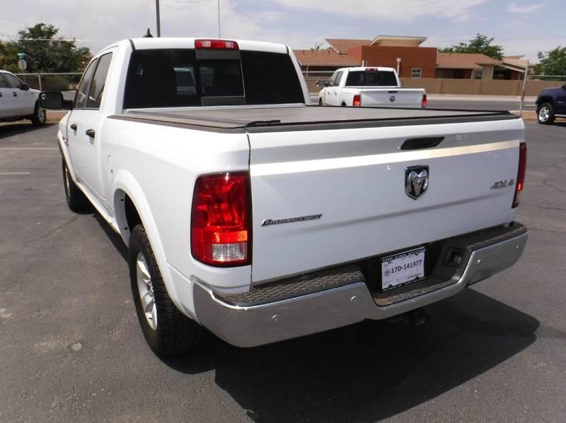 2015 RAM Ram Pickup 1500 4x4 Outdoorsman 4dr Crew Cab 6.3 ft. SB Pickup - Las Cruces NM