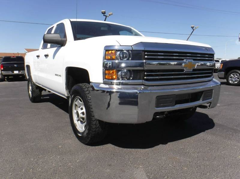2015 Chevrolet Silverado 2500HD 4x4 Work Truck 4dr Double Cab SB - Las Cruces NM
