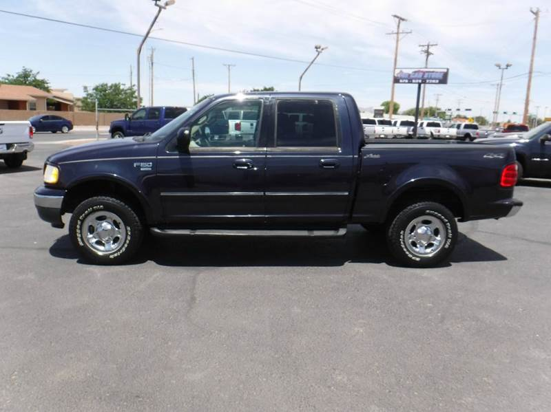2001 Ford F-150 4dr SuperCrew Lariat 4WD Styleside SB - Las Cruces NM