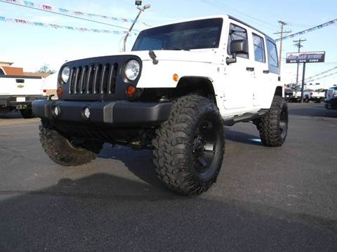 2012 Jeep Wrangler Unlimited for sale in Las Cruces, NM