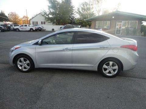 2012 Hyundai Elantra for sale in Preston, ID