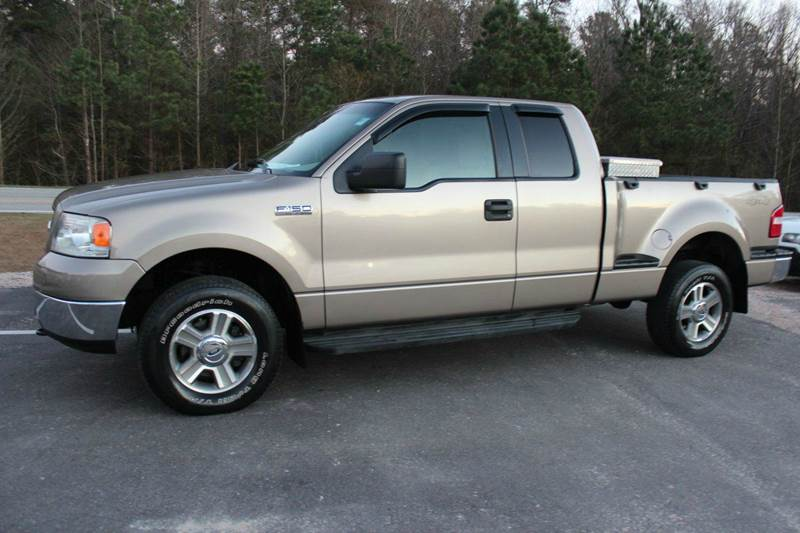 Show Me The Carfax >> 2005 Ford F-150 4dr SuperCab XLT 4WD Flareside 6.5 ft. SB In Raleigh NC - Prestige Auto Brokers