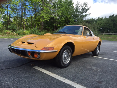 1972 Opel Gt for sale in Westford, MA