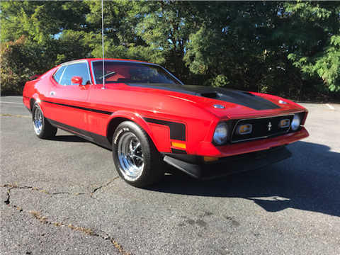 1972 Ford Mustang For Sale In Massachusetts Carsforsale