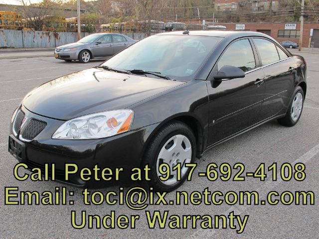 2008 PONTIAC G6 Value Leader 4dr Sedan  6000 miles VIN 1G2ZF57B184264069 11500