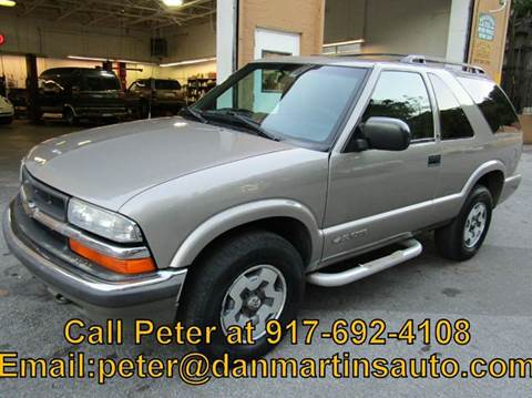 2001 Chevrolet Blazer for sale in Yonkers, NY