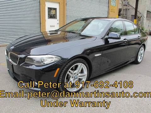 2014 BMW 5 Series for sale in Yonkers, NY