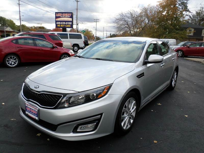 2015 kia optima ex 4dr sedan in painesville oh lake county auto sales. Black Bedroom Furniture Sets. Home Design Ideas