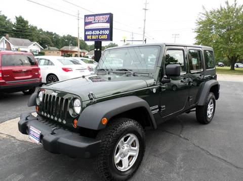 2011 Jeep Wrangler Unlimited for sale in Painesville, OH