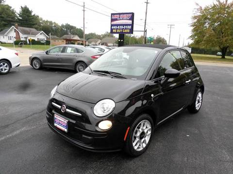2013 FIAT 500c for sale in Painesville, OH