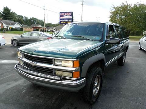 1997 Chevrolet Suburban for sale in Painesville, OH