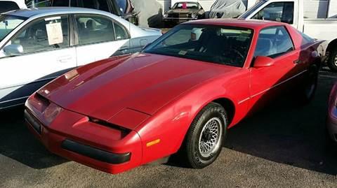 The 1985 Pontiac Firebird Trans Am Is As American As ...  |1985 Firebird Price Bra