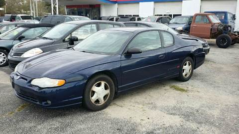 2001 Chevrolet Monte Carlo for sale in Virginia Beach, VA