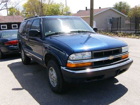 2001 Chevrolet Blazer for sale in Alpena, MI