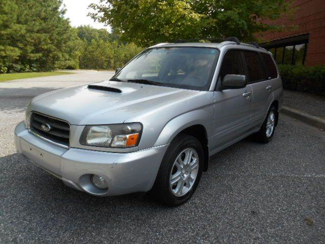 2004 subaru forester xt awd 4dr turbo wagon in alpharetta ga salton motor cars. Black Bedroom Furniture Sets. Home Design Ideas