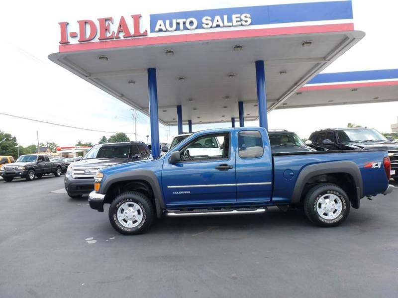 2005 chevrolet colorado 4dr extended cab z71 ls 4wd sb in for Ideal motors maryville tn
