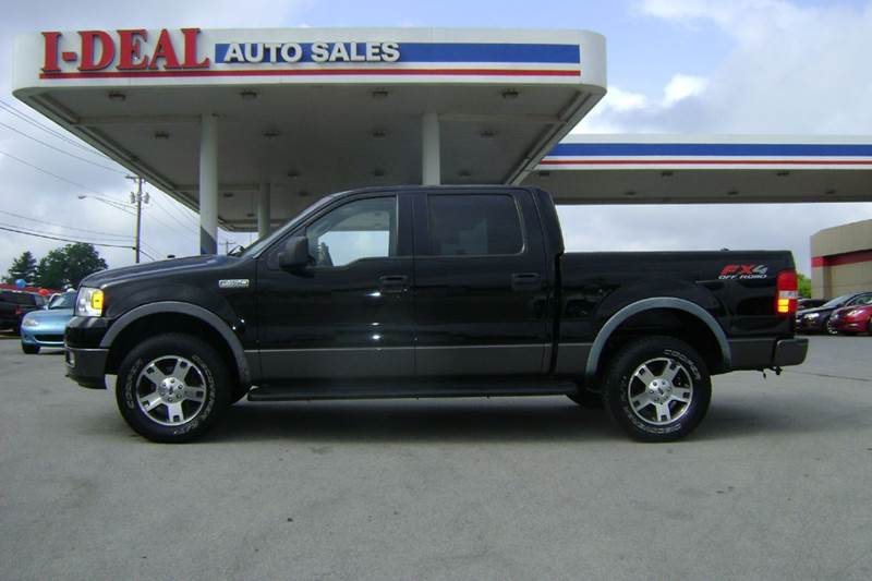 2005 ford f 150 fx4 4dr supercrew 4wd styleside 5 5 ft sb for Ideal motors maryville tn