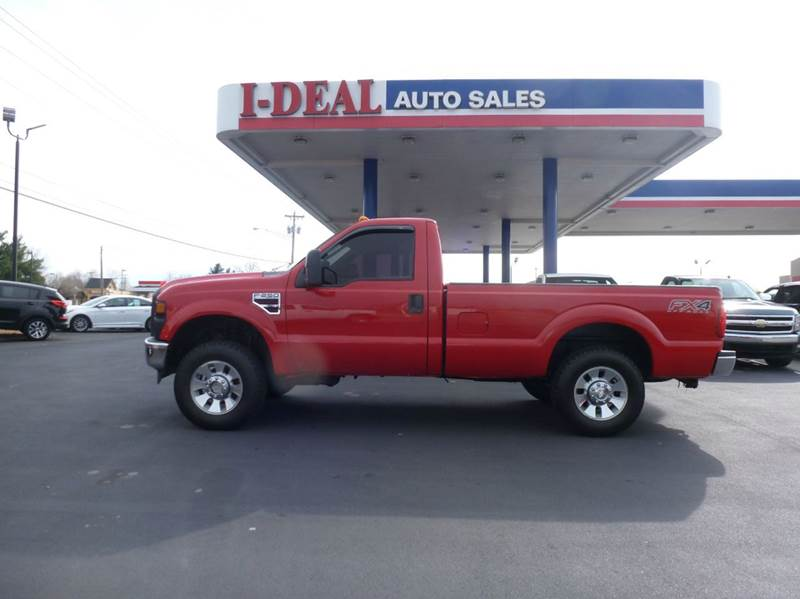 2008 ford f 250 super duty xlt 2dr regular cab 4wd lb in for Ideal motors maryville tn
