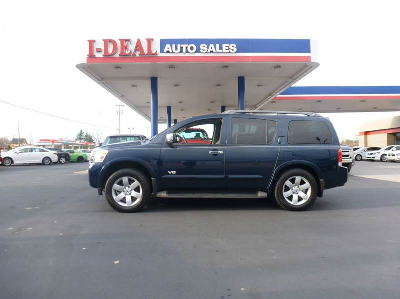 2008 nissan armada 4x4 le 4dr suv in maryville tn i deal for Ideal motors maryville tn