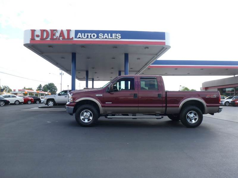 2007 ford f 250 super duty lariat 4dr crew cab 4wd sb in for Ideal motors maryville tn