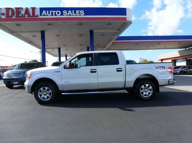 2011 ford f 150 4x4 xlt 4dr supercrew styleside 5 5 ft sb for Ideal motors maryville tn