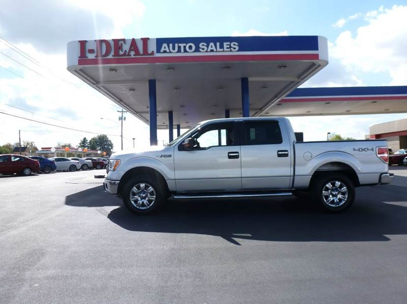 2012 ford f 150 4x4 xlt 4dr supercrew styleside 5 5 ft sb for Ideal motors maryville tn
