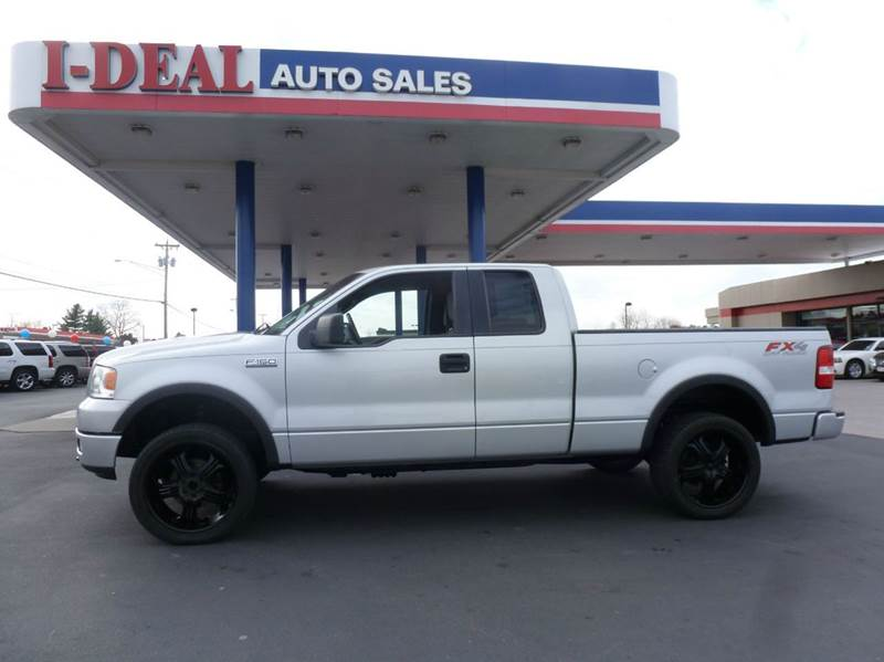 2005 ford f 150 4dr supercab fx4 4wd styleside 5 5 ft sb for Ideal motors maryville tn