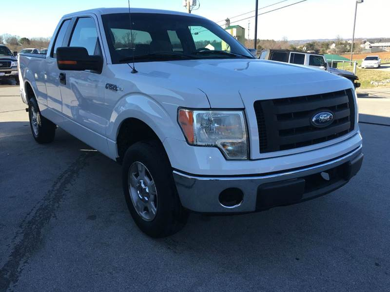 2009 ford f 150 4x4 xl 4dr supercab styleside 6 5 ft sb for Ideal motors maryville tn