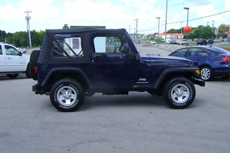 2006 jeep wrangler se 2dr suv 4wd in maryville tn i deal for Ideal motors maryville tn