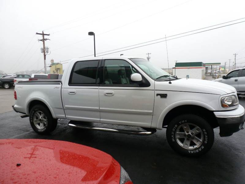 2001 ford f 150 4dr supercrew lariat 4wd styleside sb in for Ideal motors maryville tn