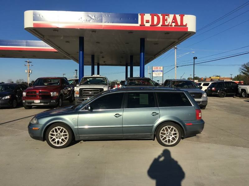 2003 volkswagen passat w8 4motion awd 4dr wagon in for Ideal motors maryville tn