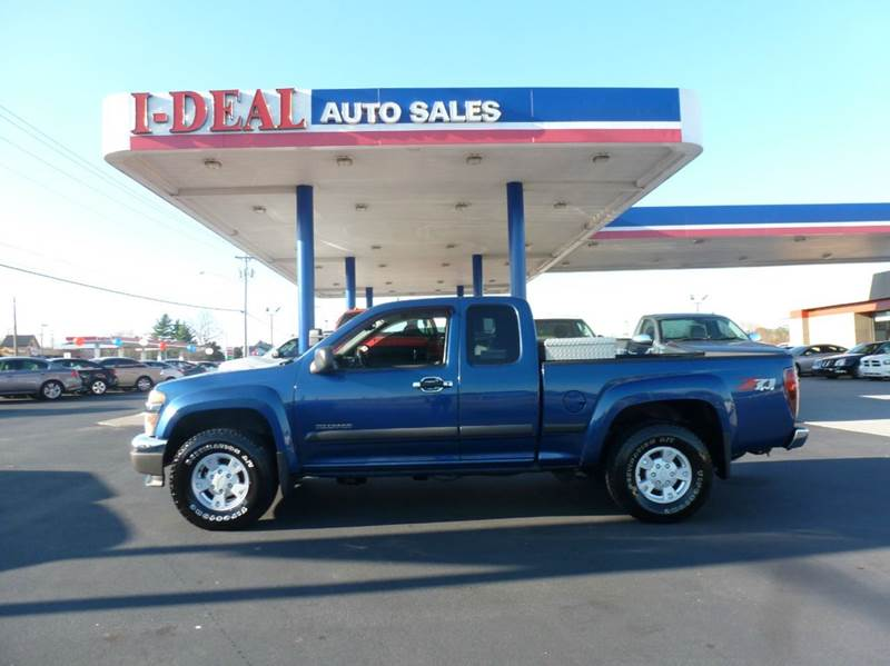2005 chevrolet colorado 4dr extended cab z71 4wd sb in for Ideal motors maryville tn