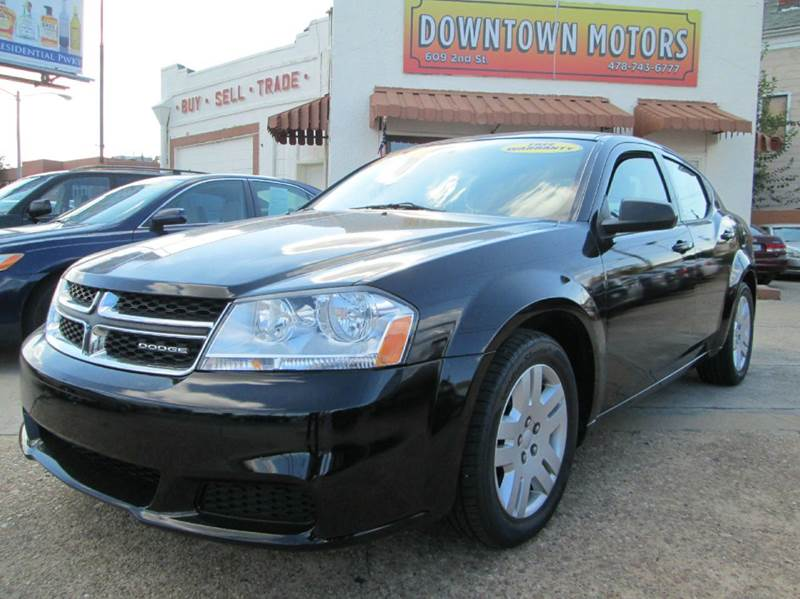 2011 dodge avenger express 4dr sedan in macon ga downtown motors. Cars Review. Best American Auto & Cars Review