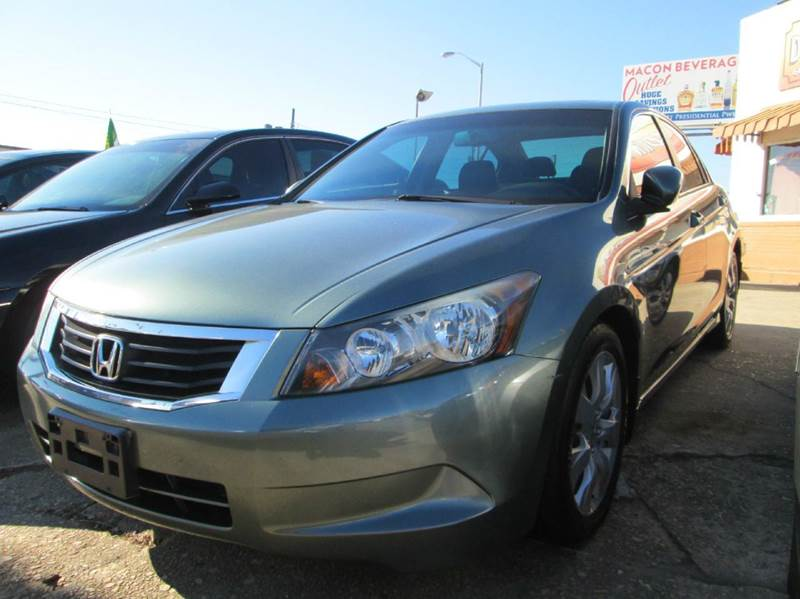 2008 honda accord ex l 4dr sedan 5a in macon ga downtown for Honda macon ga